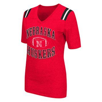 Women's Campus Heritage Nebraska Cornhuskers Distressed Artistic Tee