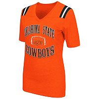 Women's Campus Heritage Oklahoma State Cowboys Distressed Artistic Tee