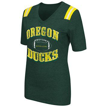 Women's Campus Heritage Oregon Ducks Distressed Artistic Tee