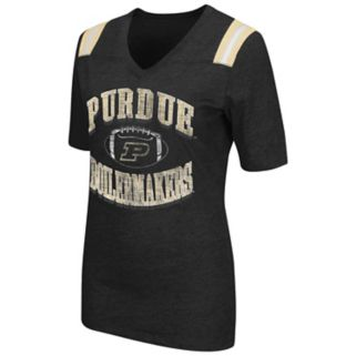 Women's Campus Heritage Purdue Boilermakers Distressed Artistic Tee