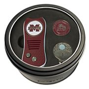 Team Golf Mississippi State Bulldogs Switchfix Divot Tool, Cap Clip & Ball Marker Set