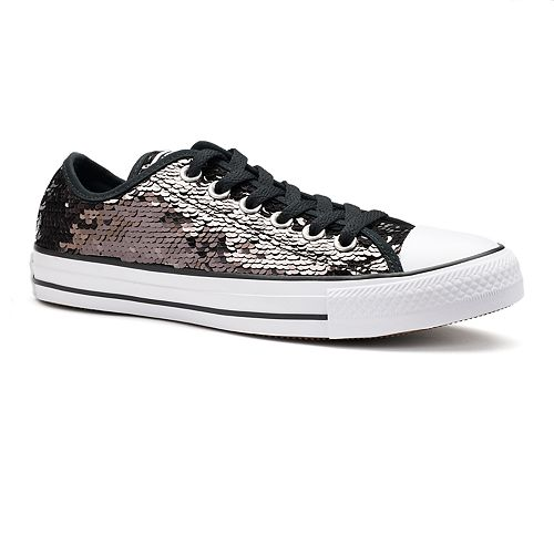 Converse Chuck Taylor All Star Ox Sequin Womens Sneakers