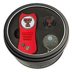Team Golf Texas Tech Red Raiders Switchfix Divot Tool, Cap Clip & Ball Marker Set