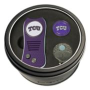 Team Golf TCU Horned Frogs Switchfix Divot Tool, Cap Clip & Ball Marker Set