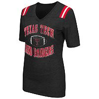 Women's Campus Heritage Texas Tech Red Raiders Distressed Artistic Tee
