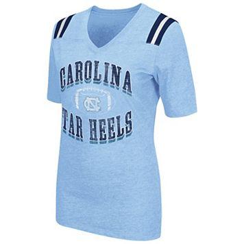 Women's Campus Heritage North Carolina Tar Heels Distressed Artistic Tee