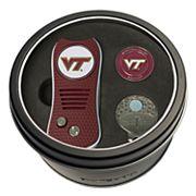 Team Golf Virginia Tech Hokies Switchfix Divot Tool, Cap Clip & Ball Marker Set