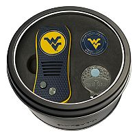 Team Golf West Virginia Mountaineers Switchfix Divot Tool, Cap Clip & Ball Marker Set