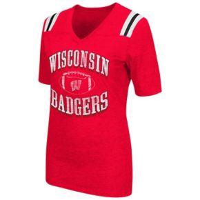 Women's Campus Heritage Wisconsin Badgers Distressed Artistic Tee