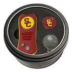 Team Golf USC Trojans Switchfix Divot Tool, Cap Clip & Ball Marker Set