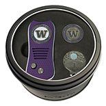 Team Golf Washington Huskies Switchfix Divot Tool, Cap Clip & Ball Marker Set