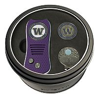 Team Golf Washington Huskies Switchfix Divot Tool, Cap Clip & Ball Marker Set