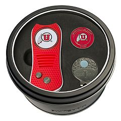 Team Golf Utah Utes Switchfix Divot Tool, Cap Clip & Ball Marker Set