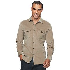 Men's Apt. 9® Slim-Fit Stretch Corduroy Shirt