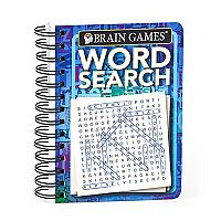 Brain Games Travel Size Word Search Book by Publications International, Ltd.