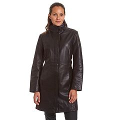 Plus Size Excelled Lambskin Coat