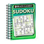 Brain Games Travel Size Sudoku Book by Publications International, Ltd.