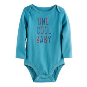 Baby Boy Jumping Beans® Jersey Cotton Graphic Bodysuit