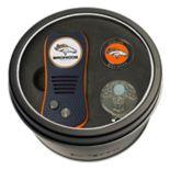 Team Golf Denver Broncos Switchfix Divot Tool, Cap Clip & Ball Marker Set
