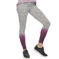 Juniors' SO® Dip-Dye High Waist Yoga Leggings