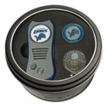 Team Golf Detroit Lions Switchfix Divot Tool, Cap Clip & Ball Marker Set