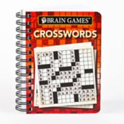 Brain Games Travel Size Crosswords Book by Publications International, Ltd.