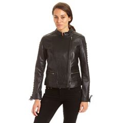 Women's Excelled Lambskin Moto Jacket