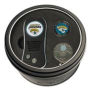 Team Golf Jacksonville Jaguars Switchfix Divot Tool, Cap Clip & Ball Marker Set