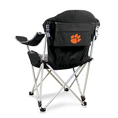 Picnic Time Clemson Tigers Reclining Camp Chair