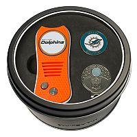 Team Golf Miami Dolphins Switchfix Divot Tool, Cap Clip & Ball Marker Set