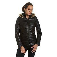Women's Excelled Lambskin Puffer Jacket