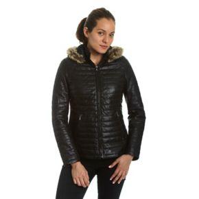 Women's Excelled Lambskin Puffer Jacket