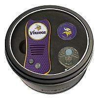 Team Golf Minnesota Vikings Switchfix Divot Tool, Cap Clip & Ball Marker Set