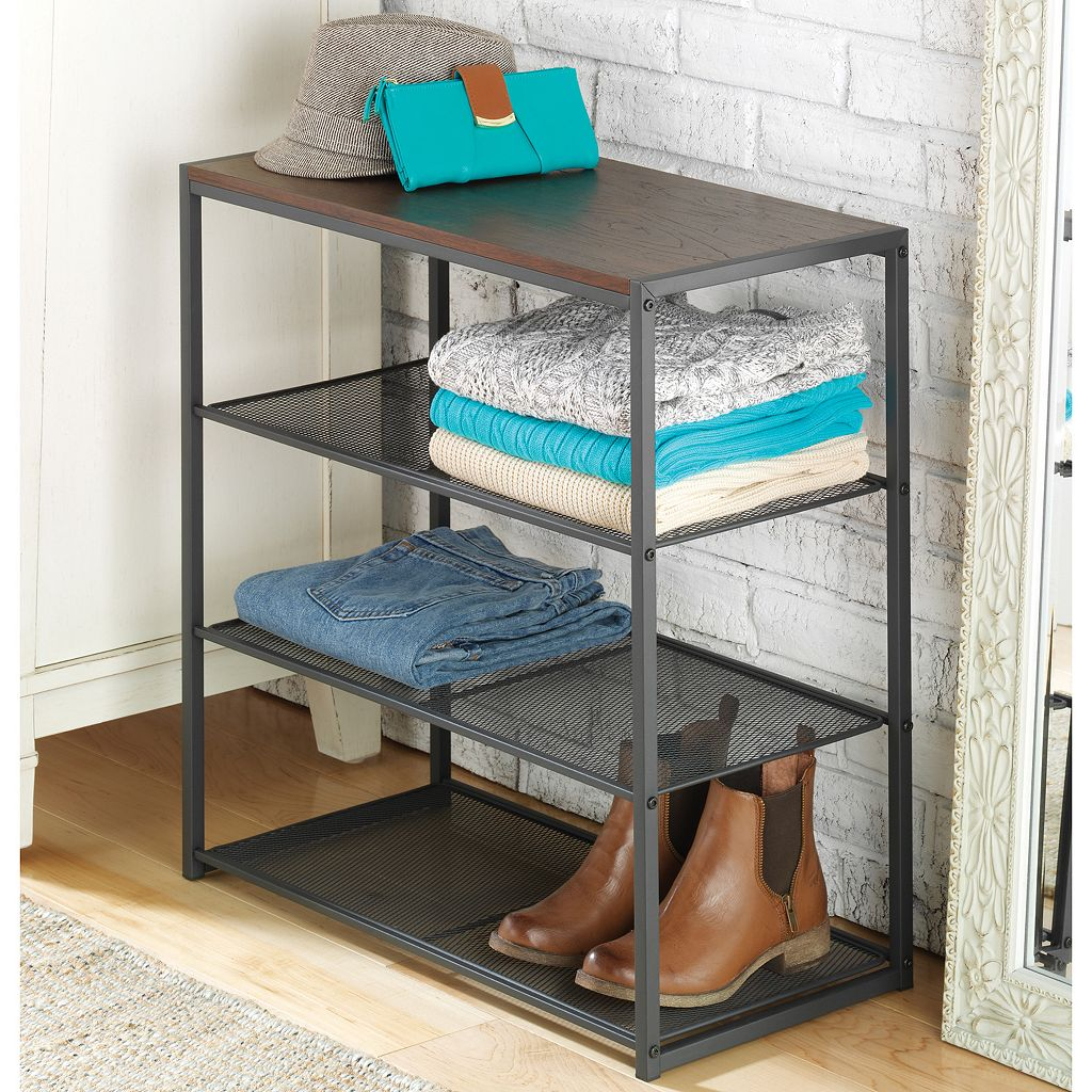 Whitmor Mesh Shelf Table Organizer