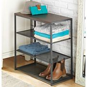 Whitmor Mesh Shelf Table Organizer