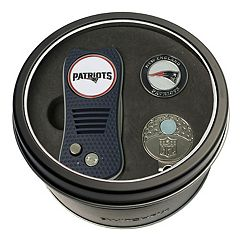 Team Golf New England Patriots Switchfix Divot Tool, Cap Clip & Ball Marker Set