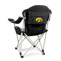Picnic Time Iowa Hawkeyes Reclining Camp Chair
