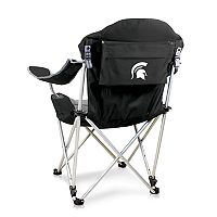 Picnic Time Michigan State Spartans Reclining Camp Chair