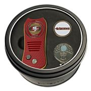 Team Golf San Francisco 49ers Switchfix Divot Tool, Cap Clip & Ball Marker Set