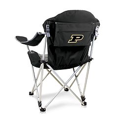 Picnic Time Purdue Boilermakers Reclining Camp Chair