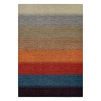 Couristan Oasis Lake Horizon Striped Wool Rug