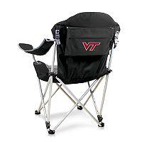 Picnic Time Virginia Tech Hokies Reclining Camp Chair
