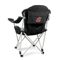 Picnic Time Washington State Cougars Reclining Camp Chair