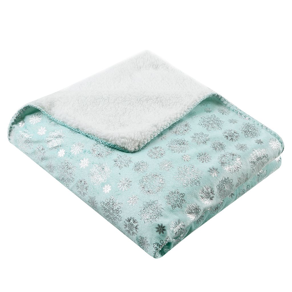 Premier Comfort Meribel Snowflake Print Throw