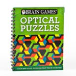 Brain Games Optical Puzzle Book by Publications International, Ltd.