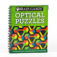 Brain Games Optical Puzzle Book by Publications International, Ltd.