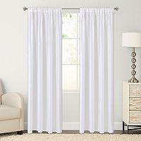 The Big One® Crushed Window Curtain Set