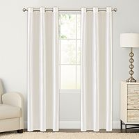 The Big One® Faux Silk Window Curtain Set