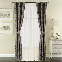 The Big One® 6-pack Jacquard Window Curtains