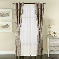 The Big One® Jacquard 6-piece Window Curtain Set